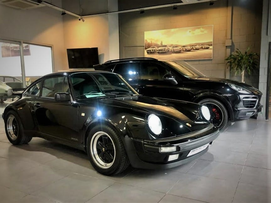 Porsche 930 Turbo and Cayenne GTS